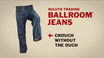 Duluth Trading Ballroom Jeans TV Spot, 'Crouch Without the Ouch' - Thumbnail 8