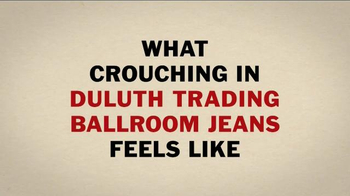 Duluth Trading Ballroom Jeans TV Spot, 'Crouch Without the Ouch' - Thumbnail 4