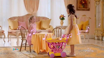 Disney Princess Belle Musical Tea Party Cart TV Spot, 'Magical Treat'