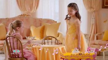 Disney Princess Belle Musical Tea Party Cart TV Spot, 'Magical Treat' - Thumbnail 7