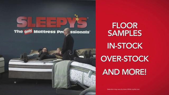 Sleepy's Biggest Beautyrest Closeout Ever TV Spot, 'Entire Collection' - Thumbnail 3