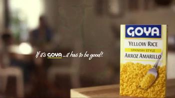 Goya Yellow Rice Mix TV Spot, 'Real-Life Chef' - Thumbnail 8