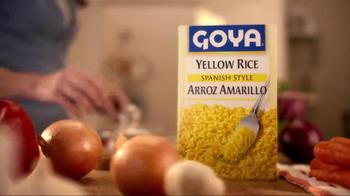 Goya Yellow Rice Mix TV Spot, 'Real-Life Chef' - Thumbnail 5
