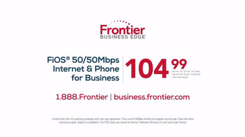 Frontier Business Edge TV Spot, 'Twice the Speed' - Thumbnail 5