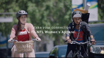 NFL Shop Women's Apparel TV Spot, 'Bicycles' Song by CHAPPO - Thumbnail 4