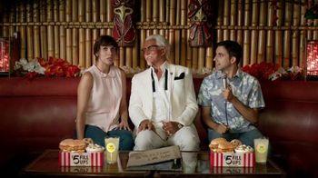 KFC $5 Fill Ups TV Spot, 'Karaoke Romance' Featuring George Hamilton - 392 commercial airings