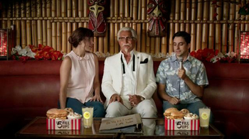 KFC $5 Fill Ups TV Spot, 'Karaoke Romance' Featuring George Hamilton - Thumbnail 1