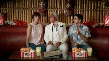 KFC $5 Fill Ups TV Spot, 'Karaoke Romance' Featuring George Hamilton - Thumbnail 2