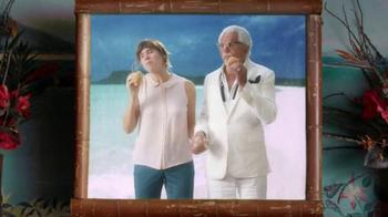 KFC $5 Fill Ups TV Spot, 'Karaoke Romance' Featuring George Hamilton - Thumbnail 8