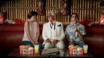 KFC $5 Fill Ups TV Spot, 'Karaoke Romance' Featuring George Hamilton - Thumbnail 9