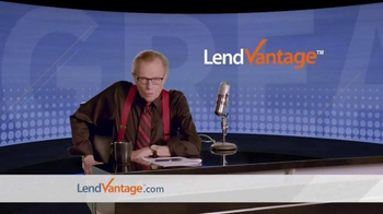 LendVantage TV Spot, 'Capital' Featuring Larry King - Thumbnail 1
