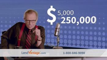 LendVantage TV Spot, 'Capital' Featuring Larry King - Thumbnail 3