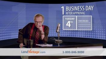LendVantage TV Spot, 'Capital' Featuring Larry King - Thumbnail 5