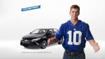 Toyota Camry TV Spot, 'How to With Eli Manning: Standard Backup Camera' - Thumbnail 1
