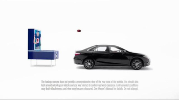 Toyota Camry TV Spot, 'How to With Eli Manning: Standard Backup Camera' - Thumbnail 6