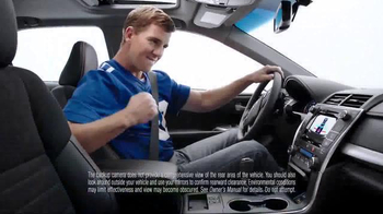 Toyota Camry TV Spot, 'How to With Eli Manning: Standard Backup Camera' - Thumbnail 7