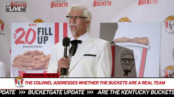 KFC TV Spot, 'Mr. Bucketeer' Featuring Rob Riggle - Thumbnail 1