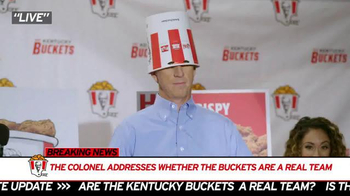 KFC TV Spot, 'Mr. Bucketeer' Featuring Rob Riggle