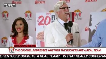 KFC TV Spot, 'Mr. Bucketeer' Featuring Rob Riggle - Thumbnail 3
