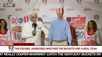 KFC TV Spot, 'Mr. Bucketeer' Featuring Rob Riggle - Thumbnail 4