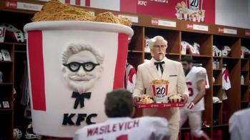 KFC $20 Fill Up TV Spot, 'Mascot' Featuring Rob Riggle - 654 commercial airings