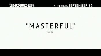 Snowden - Alternate Trailer 16