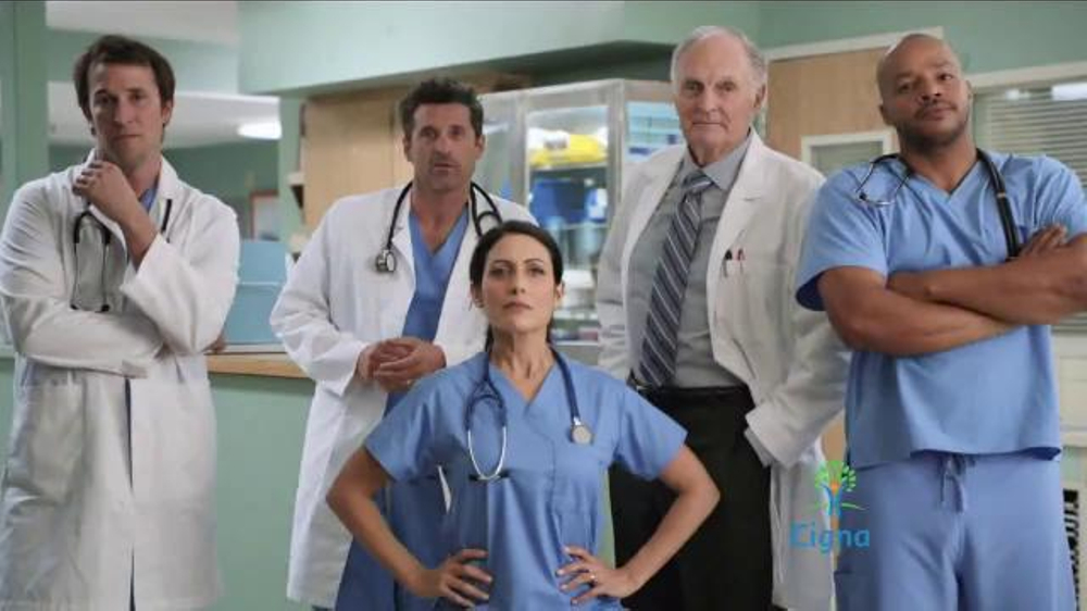 Cigna TV Commercial, 'TV Doctors of America' Feat. Patrick Dempsey, Donald Faison