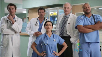 Cigna TV Spot, 'TV Doctors of America' Feat. Patrick Dempsey, Donald Faison - 4611 commercial airings