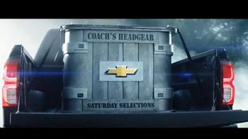 Chevrolet Silverado TV Spot, 'The Journey to ESPN College GameDay: Week 3' - Thumbnail 3
