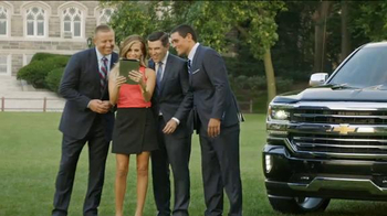 Chevrolet Silverado TV Spot, 'The Journey to ESPN College GameDay: Week 3' - 51 commercial airings