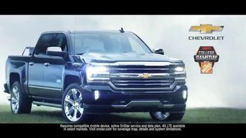 Chevrolet Silverado TV Spot, 'The Journey to ESPN College GameDay: Week 3' - Thumbnail 7