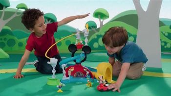 Mickey Mouse Clubhouse Zip, Slide and Zoom Clubhouse TV Spot, 'Come In'