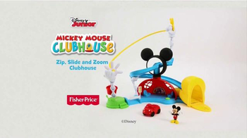 Mickey Mouse Clubhouse Zip, Slide and Zoom Clubhouse TV Spot, 'Come In' - Thumbnail 10