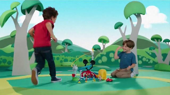 Mickey Mouse Clubhouse Zip, Slide and Zoom Clubhouse TV Spot, 'Come In' - Thumbnail 2