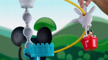Mickey Mouse Clubhouse Zip, Slide and Zoom Clubhouse TV Spot, 'Come In' - Thumbnail 4