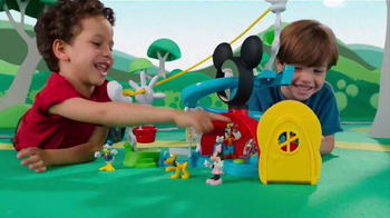 Mickey Mouse Clubhouse Zip, Slide and Zoom Clubhouse TV Spot, 'Come In' - Thumbnail 7