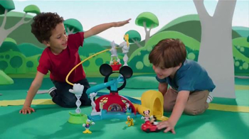 Mickey Mouse Clubhouse Zip, Slide and Zoom Clubhouse TV Spot, 'Come In' - Thumbnail 9