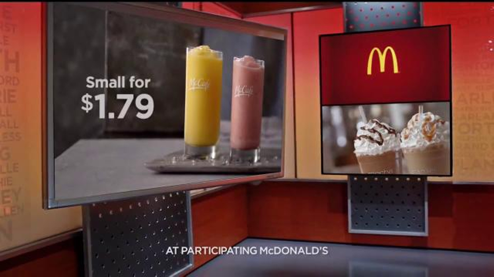 McDonald's TV Commercial, 'Start Your Day with a Blended McCafe'