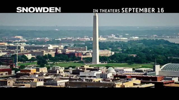 Snowden - Alternate Trailer 17
