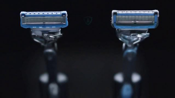 Gillette Proshield Chill TV Spot, 'Shields and Cools as You Shave' - Thumbnail 6
