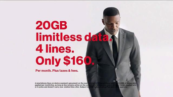 Verizon TV Spot, 'Multiple Fist Pumps' Featuring Jamie Foxx - Thumbnail 6