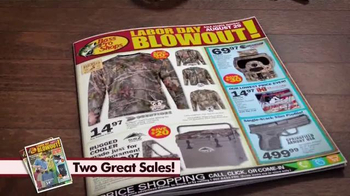 Bass Pro Shops Labor Day Blowout TV Spot, 'Cameras and Firearms' - Thumbnail 2