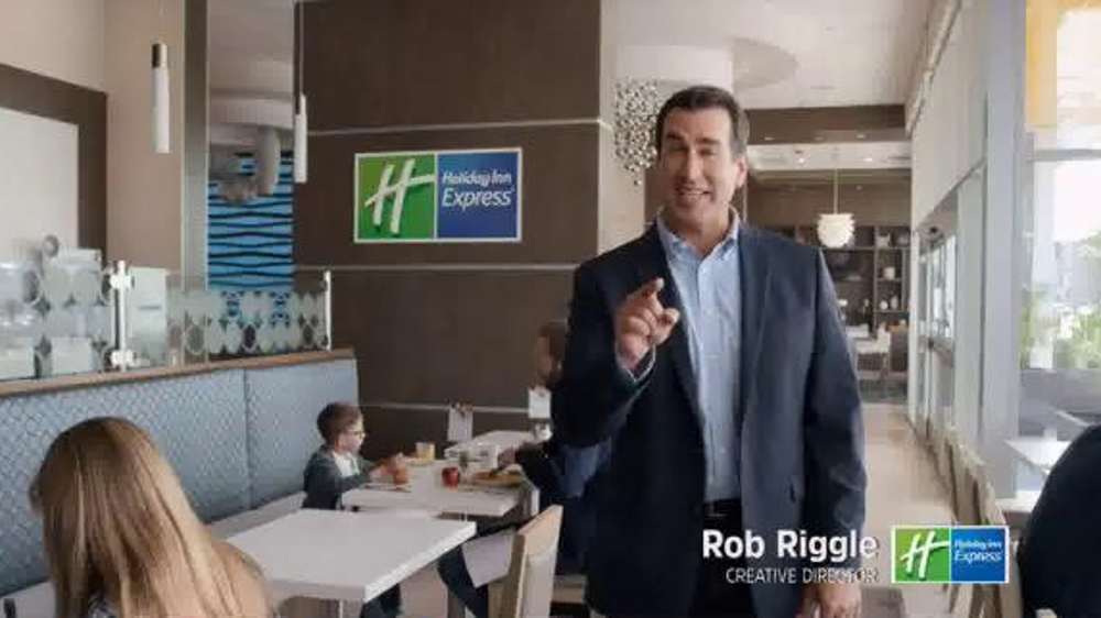 Holiday Inn Express TV Commercial, 'Mascot Mashup' Featuring Rob Riggle