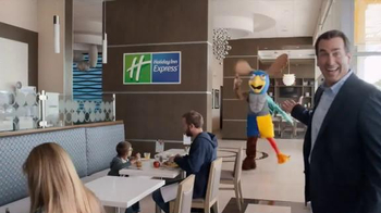 Holiday Inn Express TV Spot, 'Mascot Mashup' Featuring Rob Riggle - Thumbnail 3