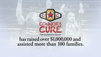 WWE Shop TV Spot, 'Support for Connor's Cure' Ft. Daniel Bryan, Brie Bella - Thumbnail 3