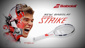 Babolat Pure Strike TV Spot, 'Power & Control' Featuring Dominic Thiem - Thumbnail 8