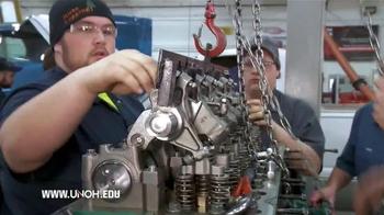 University of Northwestern Ohio TV Spot, 'College of Applied Technologies'