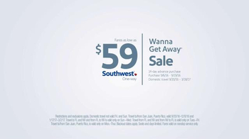 Southwest Airlines Wanna Get Away Sale TV Spot, 'Secret Identity' - Thumbnail 6