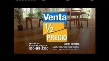 Empire Today Venta Mitad de Precio TV Spot, 'Su proyecto' [Spanish]