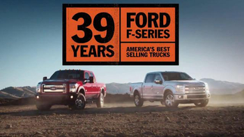Ford F-Series TV Spot, '39 Years' - 369 commercial airings